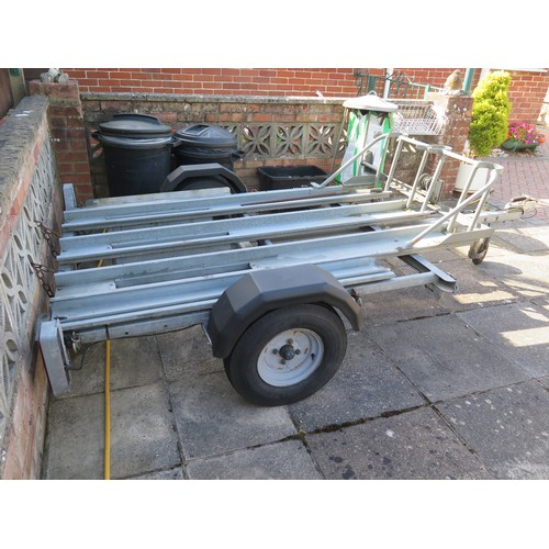 1 - Wessex 3 bike/sidecar trailer (at our Sherborne Salerooms and to be collected from this locaton) and...