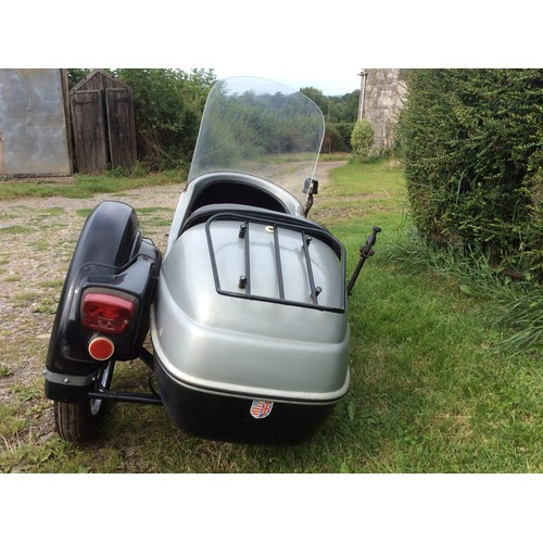 2 - Velorex sidecar model 562, previously fitted to a BSA Thunderbolt and in good condition