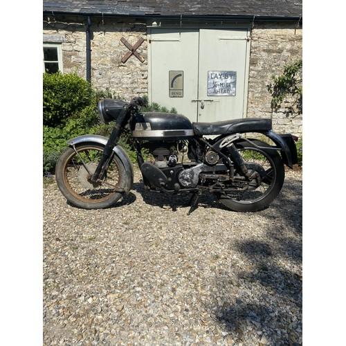 36 - 1962 Velocette Viper Being sold without reserve Registration number 196 PCV Frame number RF 17010  E...