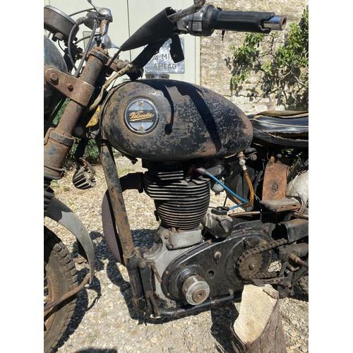 37 - 1956 Velocette Venom Scrambler Being sold without reserve Registration number KUD 151 Frame number R...