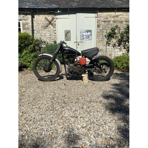 38 - 1955 Velocette Scrambler  Being sold without reserve Frame number TBA  Engine number MSS 10566  From...