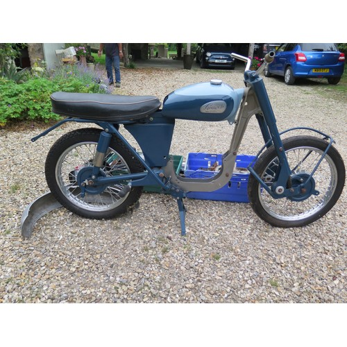 40 - 1963 Greeves Sports Twin  Being sold without reserve Registration number JSL 248   Frame number TBA ...