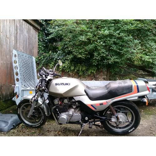 42 - 1982 Suzuki GS 650  Registration number HHT 687X   Frame number GS 650 G -103184   Engine number GS...