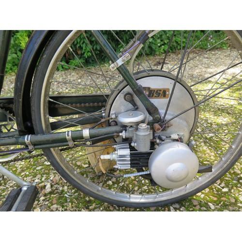 43 - c.1954 BSA Winged Wheel Ladies Model  Registration number RYH 699   Frame number TBA  Engine number ...