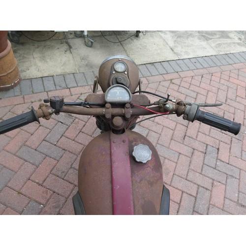 46 - 1952 James Captain de luxe Registration number HUN 776 Frame number AS 001097  Engine number 230?624...