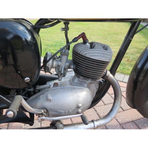 51 - 1960 BSA Bantam D7 Registration number URD 531 Frame number D7 11766  Engine number ED7B-10637 24,11...