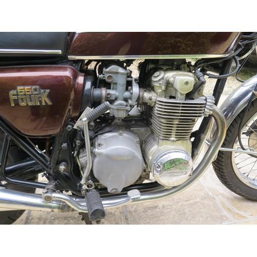 54 - 1977 Honda CB550  Registration number TJN 230R    Frame number CB550K2013026   Engine number CB550 E...