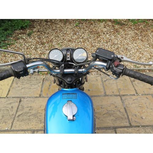 56 - 1976 Honda CB36 Registration number OVT 408P Frame number CB3602207944  Engine number CB360E 2207993...