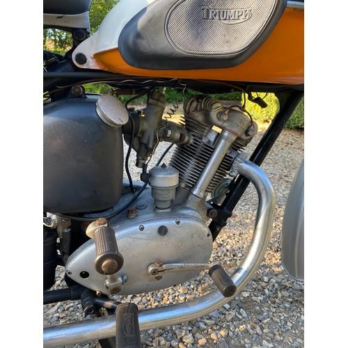 58 - 1955 Triumph Tiger Cub Registration number 980 XVA  Frame number T19548  Engine number T20-19548  Im...
