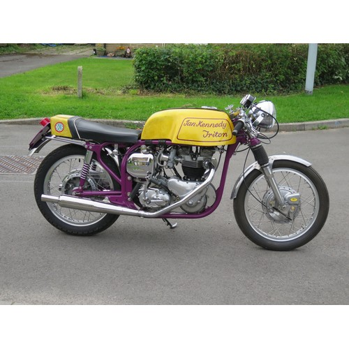 59 - 1963 Ian Kennedy Triton Registrationnumber 629 COW   Frame number1493676   Engine number 6T.D.1652...