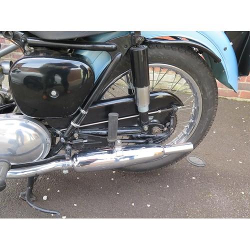 60 - 1955 Triumph T100 Registration number ABM 809A Frame number  58178 Engine number 5T/58178 Totally re...