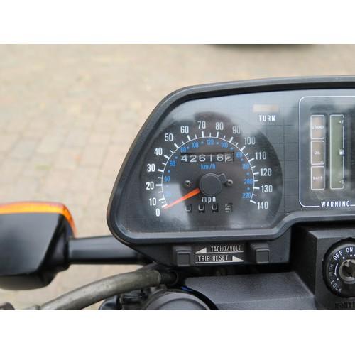 62 - 1986 Kawasaki GT 550 (Z550 G3)  Registration number D871 TVO  Frame number KZ550G-003912  Engine num...