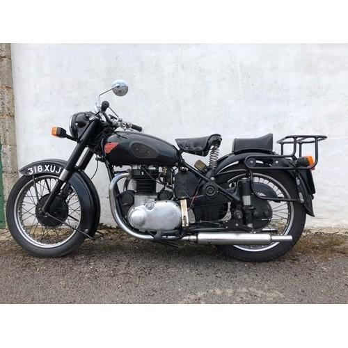 64 - 1955 BSA A10 Golden Flash  Registration number 318 XUJ (not as in catalogue) Frame number  BA75-1605...