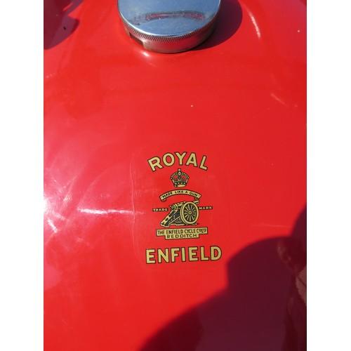 68 - 1966 Royal Enfield Interceptor  Registration number GFX 124D Frame number T 54286  Engine number 628...
