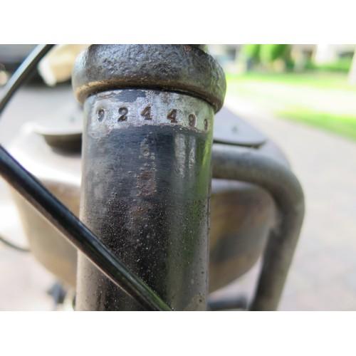 71 - 1925 Triumph Model P  Registration number BT 8829 Frame number 924499  Engine number 223325  Totally...