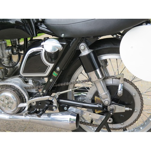72 - 1953 Matchless G45 Frame number 138 Engine number 147  Gearbox number 137 Renolds frame ID number RT...