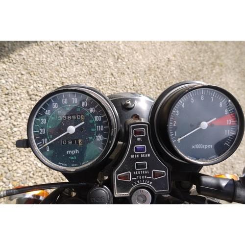 80 - 1978 Honda CB550 K3  Registration number VUL 646S  (registration amended) Frame number CB 550 K 2018...