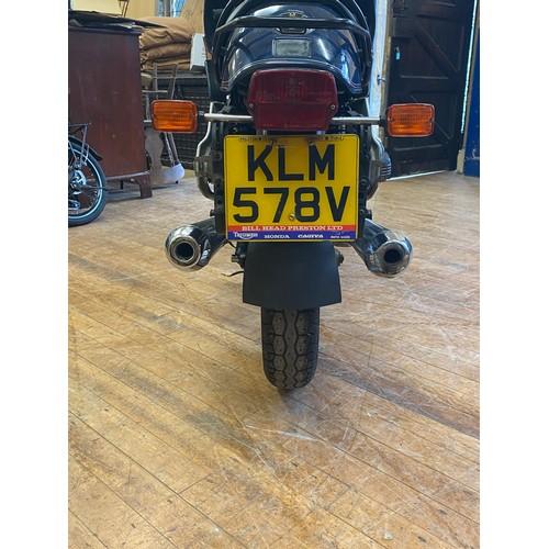 91 - 1980 BMW R100RS  Registration number KLM 578V   Frame number 6097446   Engine number 6097446   61,71...