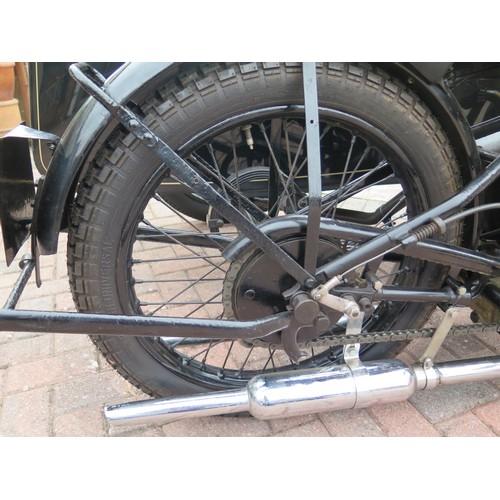 106 - 1929 Sunbeam TT90 and a sidecar Registration number VP 4739 Frame number E5187  Engine number N 3010...