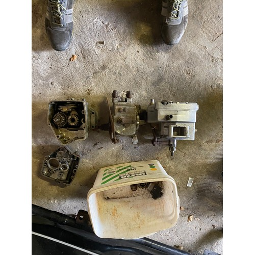 11 - Assorted Velocette spares: 2 RS gearbox and one Venom/Viper