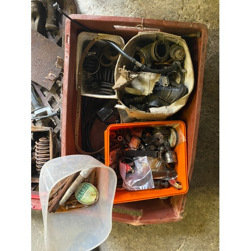 17 - Assorted Velocette spares