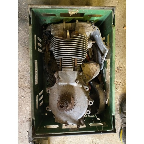 7 - Assorted Velocette spares: MAC engine