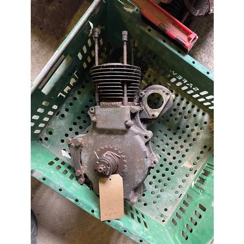 26 - Assorted Velocette spares: MAC engine bottom half