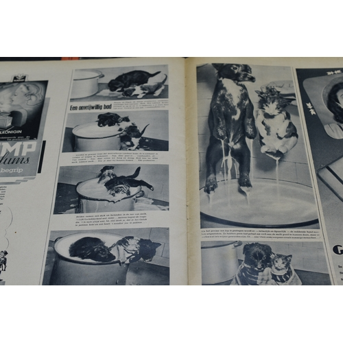 51 - Three Copies of The Third Reich Wehmacht Signal Magazine (2 Dated 1941 and 1 1943) Two in Dutch and ...