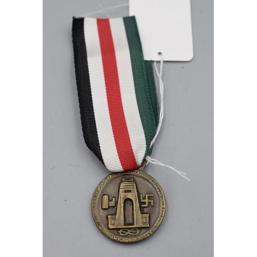 59 - Third Reich Afrika Korps Medal...