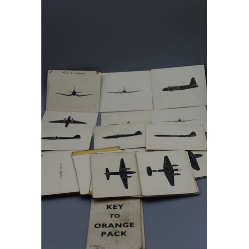111 - Large Quantity of Military Aircraft Recognition Cards...