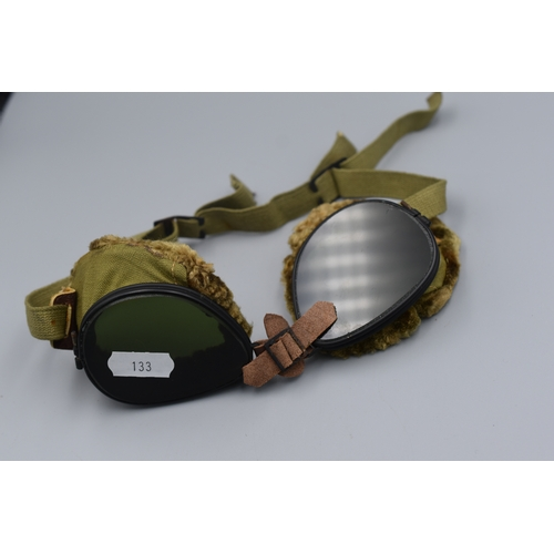 133 - WWI Flying Goggles...