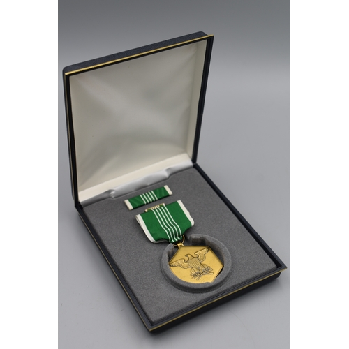 66 - US Army Commendation Medal set in Original Box and Packaging...