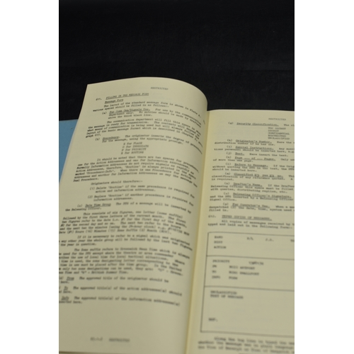 67 - Royal Navy Auxiliary Service Training Manual Part VI Communications 1968...
