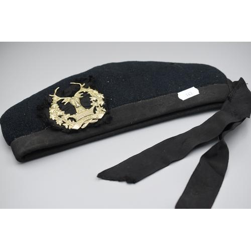 147 - Gordon Highlanders Glenngary Service Cap...