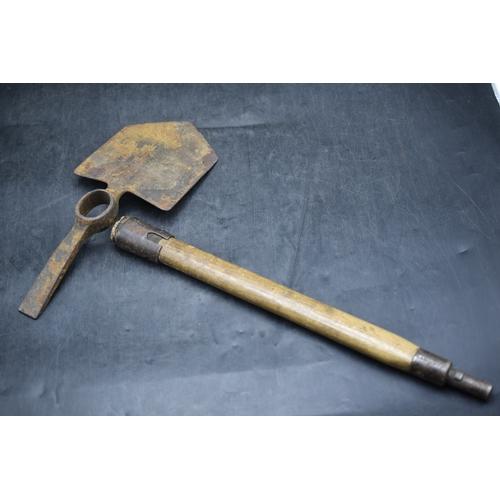 222 - British Army entrenching Tool...