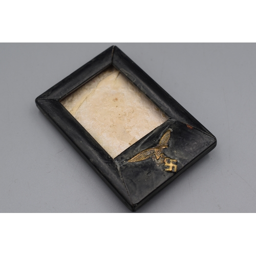 228 - WWII German Luftwaffe Photograph and Frame...