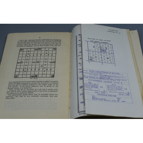 244 - British War Office Manual of Map Reading, Photo Reading and Field sketching 1929...