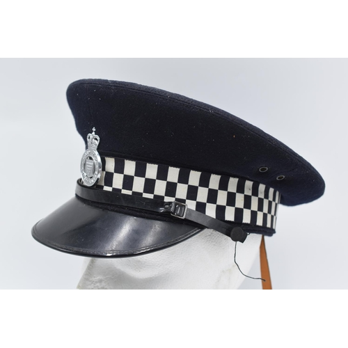 1 - Cornwall Police Service Cap made by J. Compton Sons & Webb London with Badge...