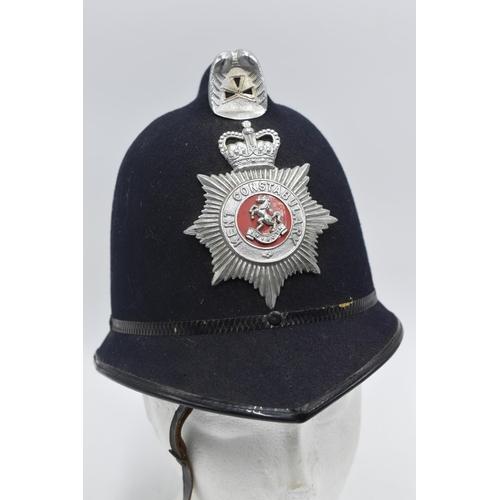 3 - Kent Police Custodian Helmet with Badge...