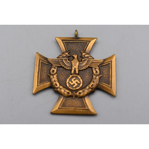 German Border Protection Long Service Medal