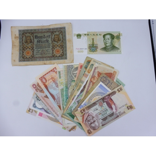 Selection of 25 Worldwide Bank Notes