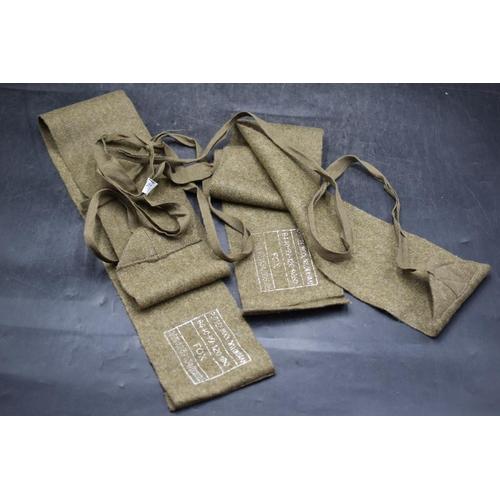 29 - Pair Of Khaki Wool British Military Puttees...