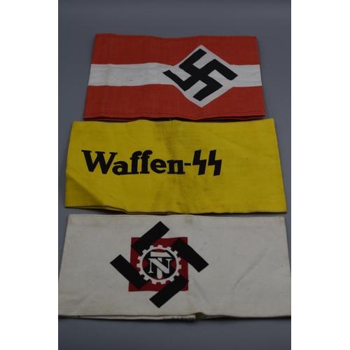 45 - Three German Armbands...