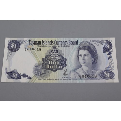 15 - Cayman Islands Currency Board 1985 One Dollar Bank Note...