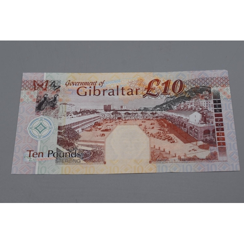 5 - Government of Gibraltar 2002 Ten Pound Bank Note...