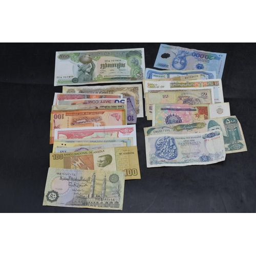 35 - Selection of 25 Mixed Worldwide Bank Notes...