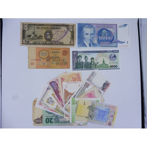 39 - Selection of 25 Worldwide Bank Notes...
