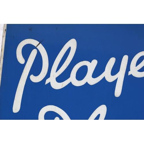 18 - PLAYER'S PLEASE ORIGINAL VINTAGE POSTER