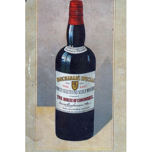 2 - BUCHANAN'S 'RED SEAL' SCOTCH WHISKY POSTER