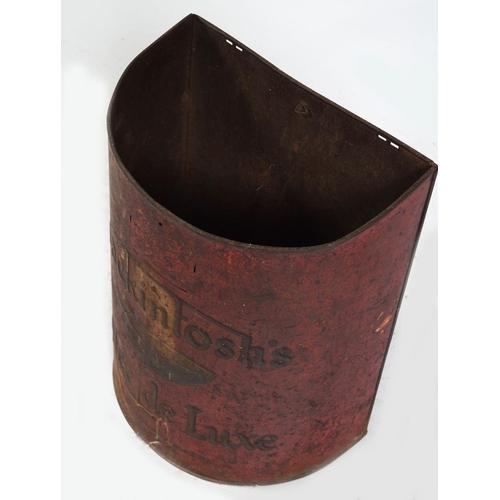 23 - MACKINTOSH'S TOFFEE DE LUXE METAL BUCKET